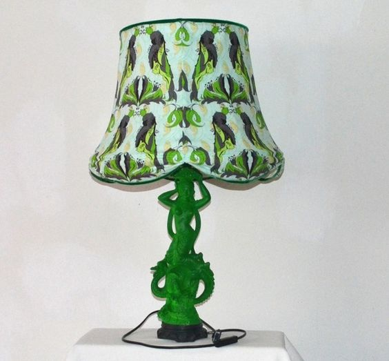 Tischlampe, Stehlampe, Lampe von flower couture auf DaWanda.com