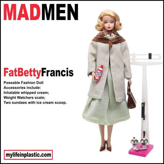 Mad Men Barbie Dolls Season 5  Collect them all!