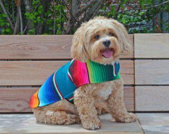 Hund Kleidung handgemachte Dog Apparel von von BajaPonchos auf Etsy