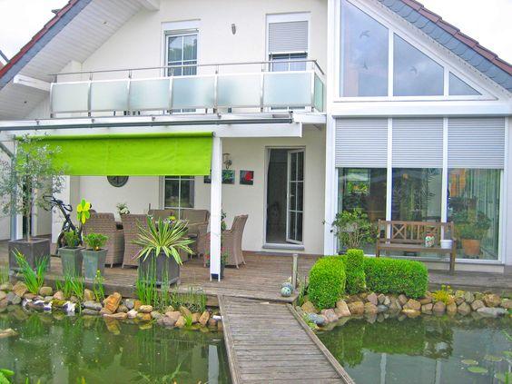 #rollo #outside #garten #teich #green Macht Euer Zuhause schöner mit unseren Rollos.