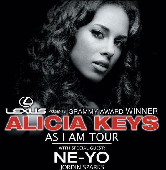May 7,2008  - Alicia Keys with my Sis.. San Diego