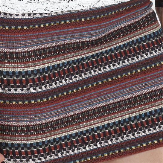jupe tube exotique multicolore exotic mix pimkie