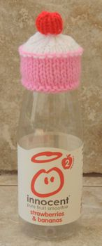Innocent Smoothie Big Knit Patterns : Innocent Smoothies Big Knit Hats - Cup Cake Pattern Craft ideas Pinterest...