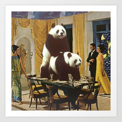 The Problem with Pandas Art Print by Melissa Gable - $20.00