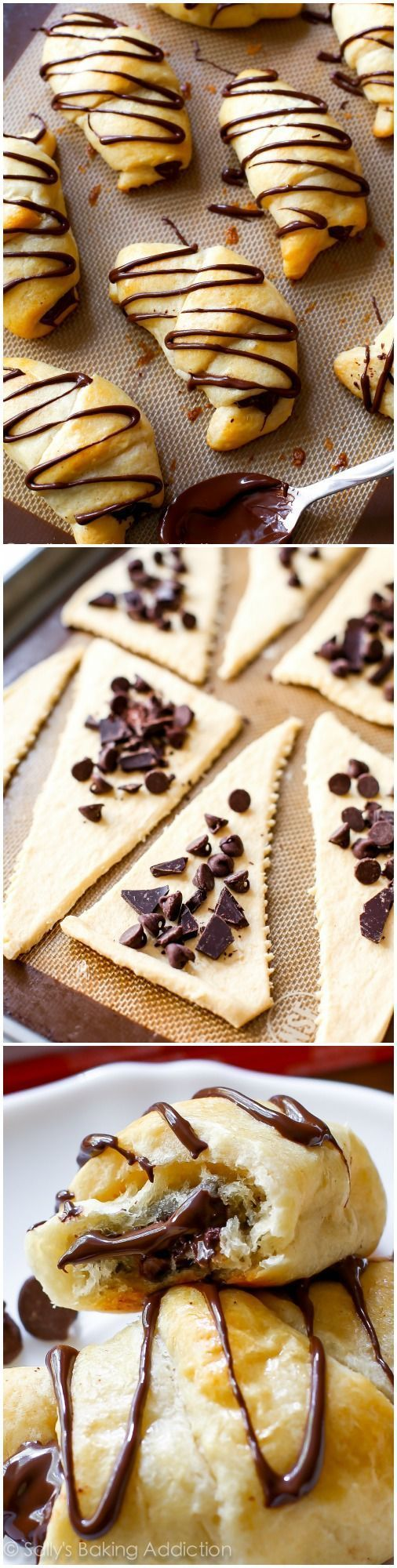20 Minute Chocolate Crescents (Crossaints) | Recipe | Christmas ...
