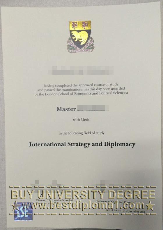 novelty degree certificates uk