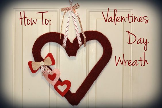 Castle DIY: How to: Valentines Day Wreath (& Other V-Day Decor) for cheap (or free, depending on what you already have on hand!)