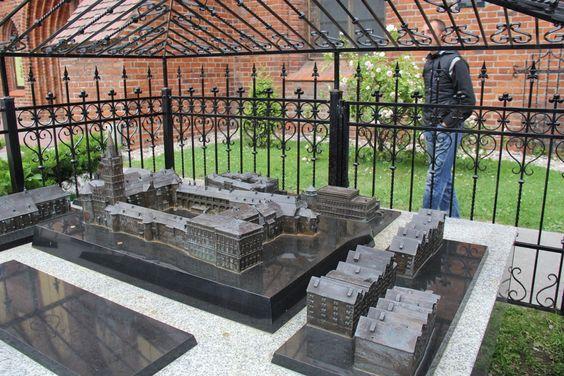 Макет старого центра Кенигсберга (Калининграда)