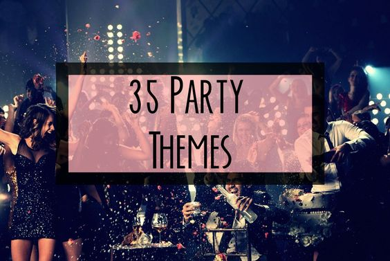 Picking a good party theme is probably one of the hardest steps of party planning – it has to be cool, fun, unique, interesting . . .  but still allow everyone to look fabulous and take a rid…