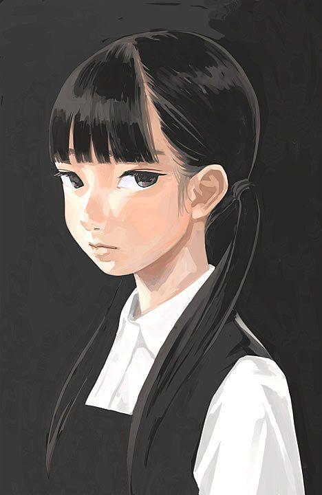 Bellas y sombrías ilustraciones japonesas de Jun Kumaori - Cultura Colectiva - Cultura Colectiva