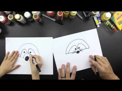 how to draw a cartoon snowman art for kids hub