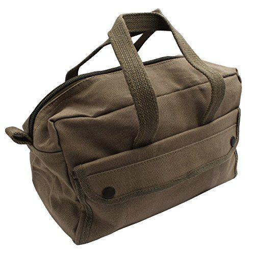 Red Deer Rugged Olive Mechanics Tool Bag Heavy Duty Canvas Design Tool Bag Bag Heavy Mechanics Tool Bag