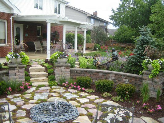 Above Ground Pool Removed And Turned Into A Sunken Garden Decorating Ideas Pinterest