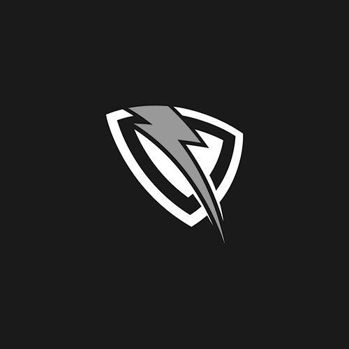 Thunder Vector Design Logo Template Custom Graphic Design For Baseball Logo Truck Logo Energy Logo Car Logo Design Logo Design Custom Graphic Design