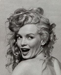 Marilyn by Andre De Dienes, 1949.: