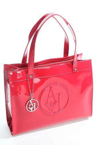 Armani Jeans Damen Tasche 05232RJ Rot   Designer Handtaschen