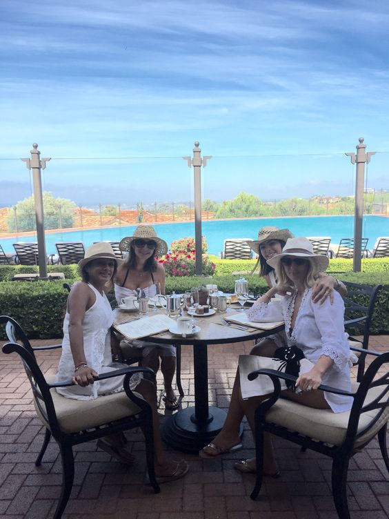 """A wonderful time for girlfriends to reconnect and unwind, lots of laughter sunsets and champagne, a stay at Pelican Hill has become a tradition for us."" Thank you for sharing your favorite #PelicanHill memory with us, Andrea!:"