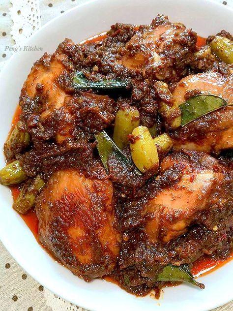 Bewarned This Dish Is Really Really Irresistible I Only Need A Big Bowl Of Warm Rice For This Salivating Sambal C Sambal Recipe Nyonya Food Spicy Recipes