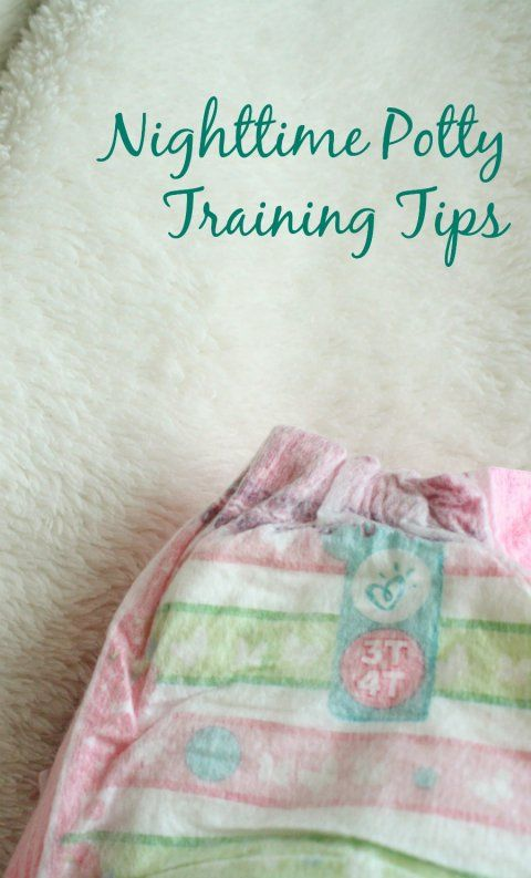 Nighttime Potty Training Tips Sponsored by Pampers