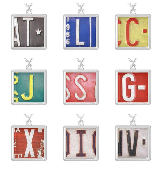 Cool  Letter License Plates