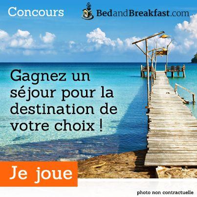 #concours #jeu #voyage