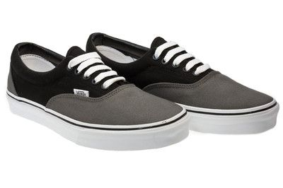 Vans Grey And Black