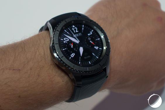 Prise en main des Samung Gear S3 Classic et Frontier - http://www.frandroid.com/produits-android/accessoires-objets-connectes/montres-connectees-2/374725_prise-main-samung-gear-s3-classic-frontier  #IFA, #Montresconnectées, #Prisesenmain, #Samsung
