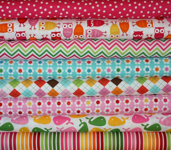 Love this Bundle! Girl Urban Zoologie and Remix Fabric by Ann Kelle by fabricshoppe