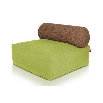 Fatboy Tsjonge Jong Chaise Lounge Upholstery Color Green Circles Orange Chaise Lounge Chaise Lounge Sofa