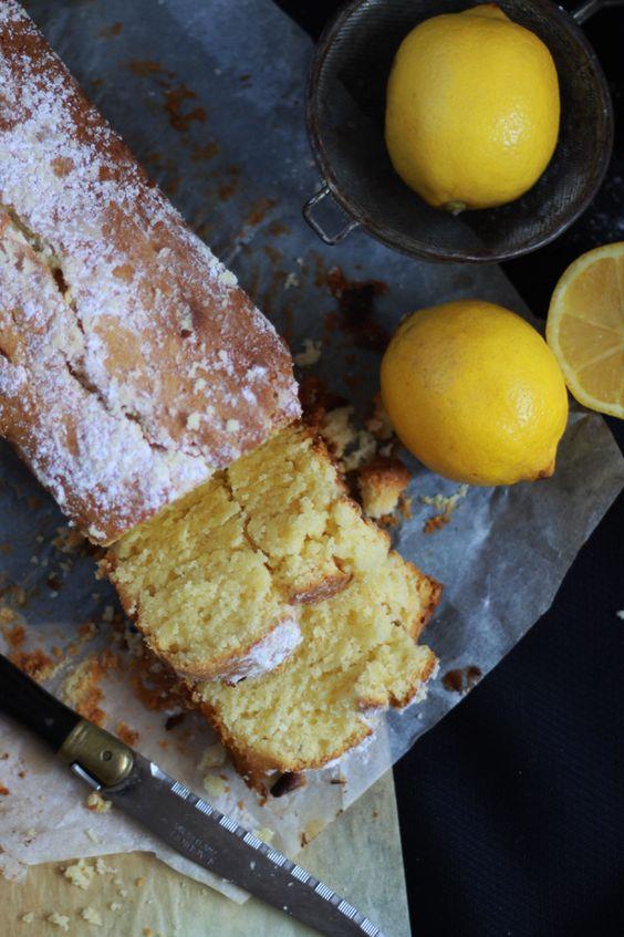 Cake au citron et mascarpone (recette réalisée avec un peu plus de farine: un résultat fondant incroyable mais un peu lourd)