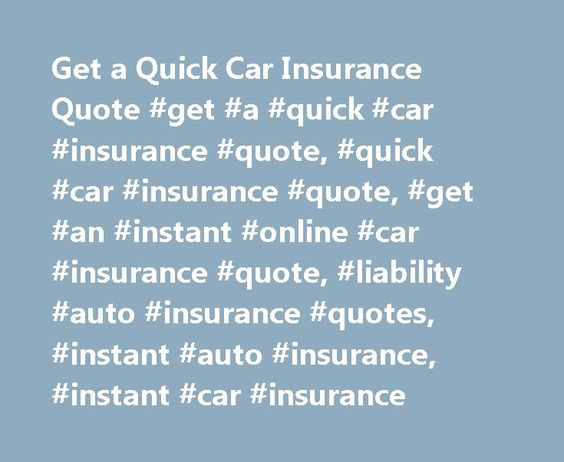 Instant Car Insurance Quote Get Quick And Free Life Insurance Quotes Online At Pacific Insurance .
