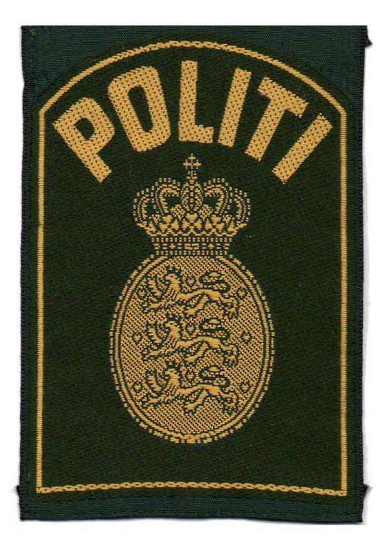 Denmark Politi Plakater Dansk