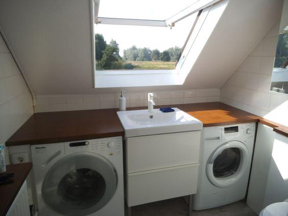 kleine badkamer wasmachine - Google zoeken