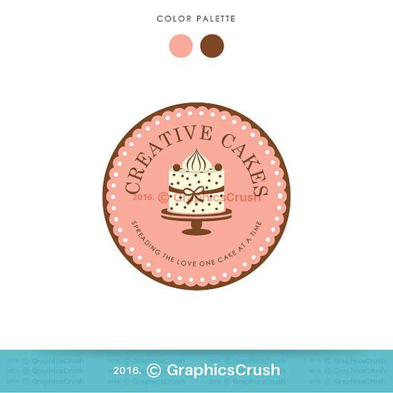 Cake Logo Design Bakery Logo Design Branding by GraphicsCrush
