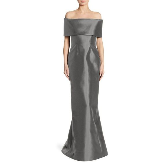 Catherine Regehr Off-The-Shoulder Gown ($2,850) ❤ liked on Polyvore ...