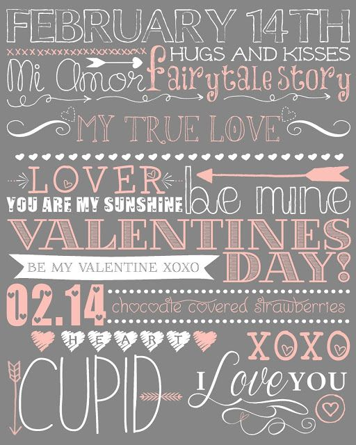 Mrs. This and That: Valentines printout