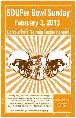 SOUPer Bowl Flyer - Feb. 3