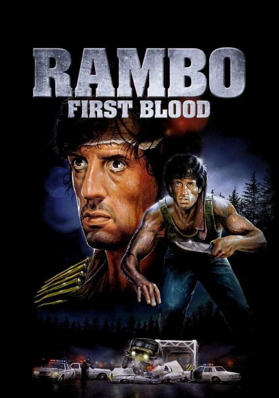 First Blood #Stallone. my very first action movie