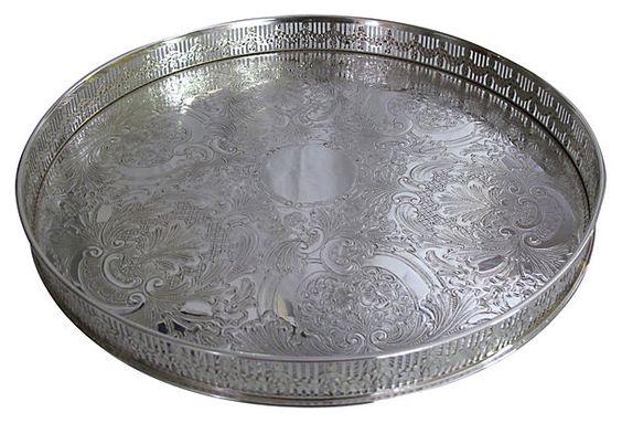Silverplate    Gallery Tray on OneKingsLane.com