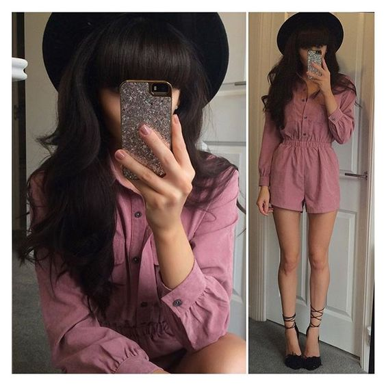 When you find a perfect playsuit and you're never taking it off! ✨