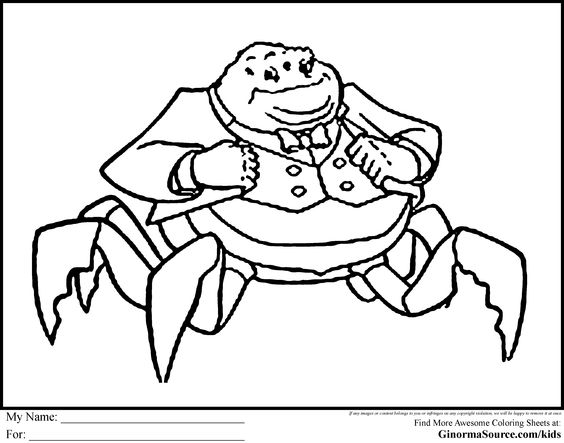 monsters inc coloring pages preschool - photo#27