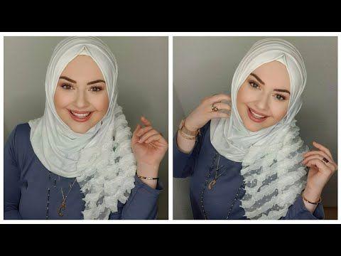 لفات حجاب الشال أنيقة سهلة وسريعة Turkish Hijab Tutorial Youtube Hijab Fashion
