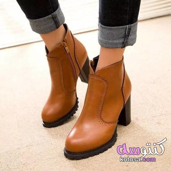 كذا لوك مختلفين للبس البوت في الشتا بالصور أشكال للـهاف بوت أحذية مثالية للسفر فى الشتاء غير الكوتشى Preppy Shoes Boots Shoes