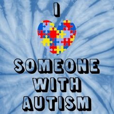 Do you love someone who is autistic? Then wear this!