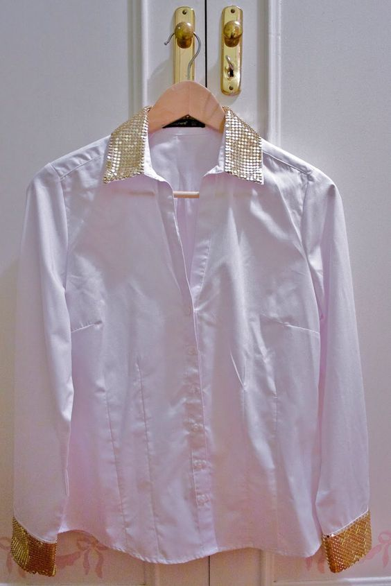 Cómo customizar una camisa blanca Custom, DIY, outfits - Crímenes de la Moda