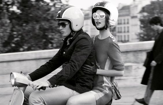 I'm excited and deeply scared out of my mind about our future vespa adventures.