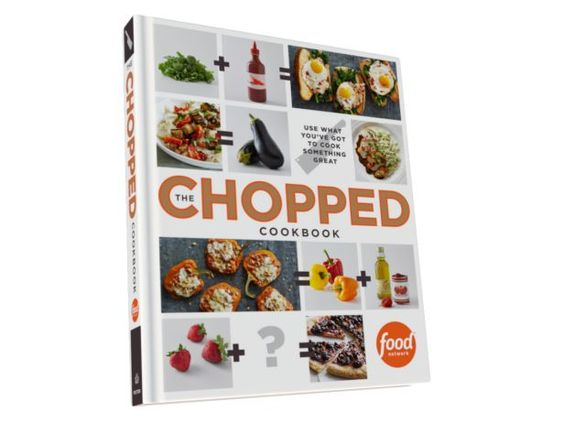Get the new #ChoppedCookbook