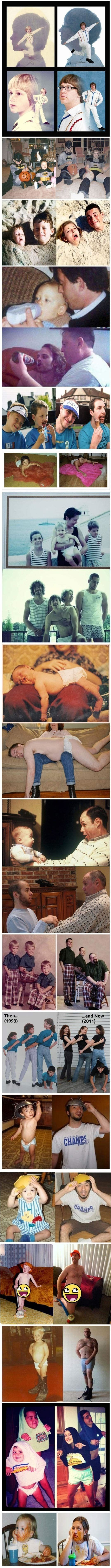 Recreating Childhood Photos (Updated)