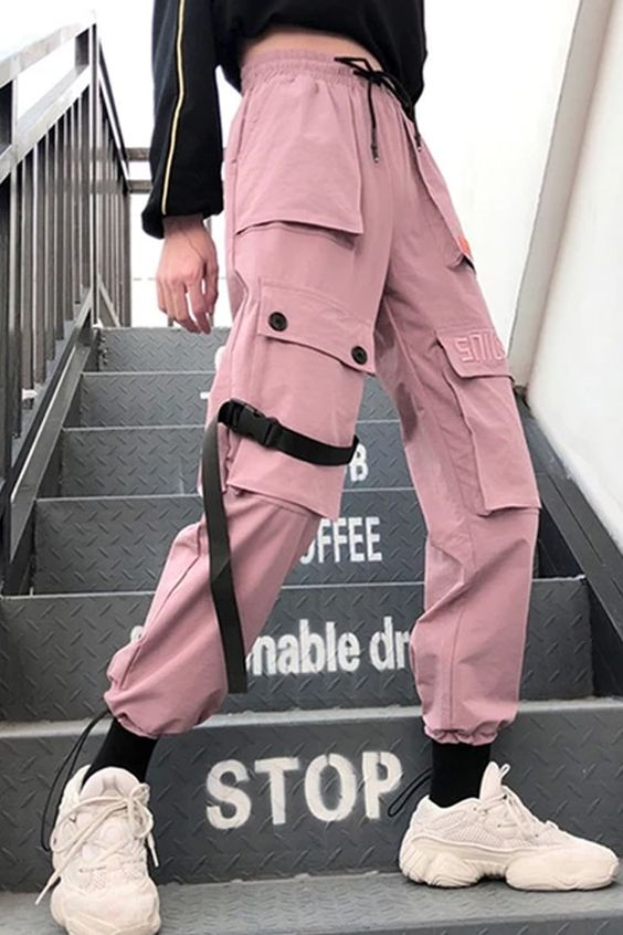The autumn streetwear women's embrodiery casual cargo pants  with pocket is so cool . #pantsoutfit #jeans #pantsforwomen #pantsforwomencasual #jeans #women'sjeans #pantsforwomenfashion  #pantsoutfitwork #pantsoutfitcasual #highwaistedpants