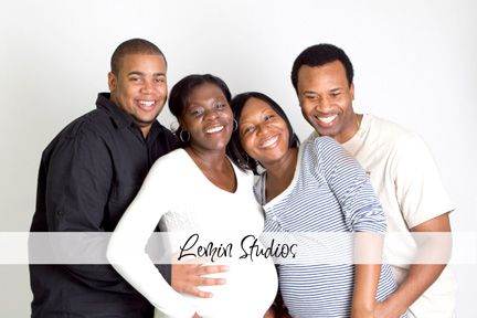 How fun sisters pregnant at the same time. Love it when the couples are cutting up and having fun. Lemin Photography Studios
